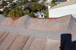 Concrete - Flexi Over on the Ridge Line - Before